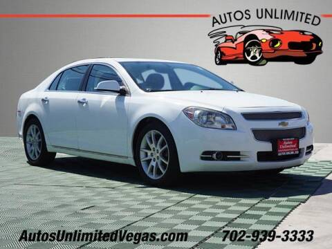 2011 Chevrolet Malibu for sale at Autos Unlimited in Las Vegas NV