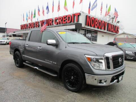 2018 Nissan Titan for sale at Giant Auto Mart 2 in Houston TX