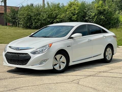 2013 Hyundai Sonata Hybrid for sale at Schaumburg Motor Cars in Schaumburg IL