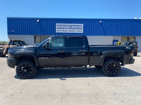 2007 Chevrolet Silverado 2500HD for sale at HATCHER MOBILE SERVICES & SALES in Omaha NE