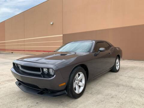 2013 Dodge Challenger for sale at ALL STAR MOTORS INC in Houston TX