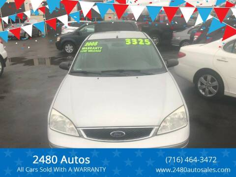 2005 Ford Focus for sale at 2480 Autos in Kenmore NY