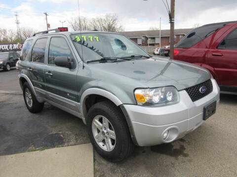 2007 Ford Escape Hybrid for sale at Fox River Motors, Inc in Green Bay WI