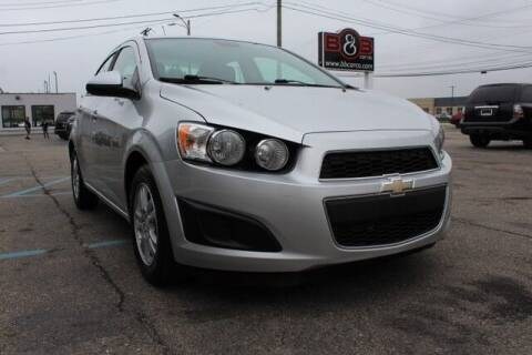 2012 Chevrolet Sonic for sale at B & B Car Co Inc. in Clinton Township MI