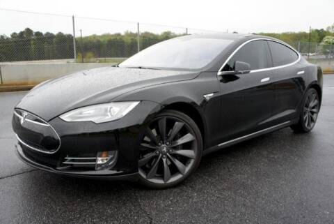 2014 Tesla Model S for sale at CU Carfinders in Norcross GA