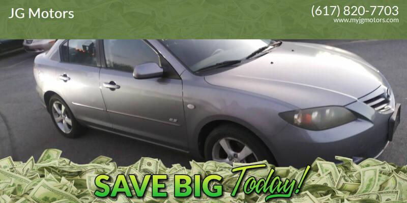 2005 Mazda MAZDA3 for sale at JG Motors in Worcester MA
