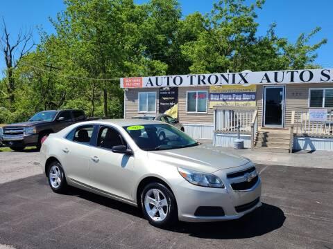 2013 Chevrolet Malibu for sale at Auto Tronix in Lexington KY