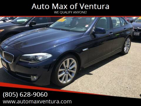 2011 BMW 5 Series for sale at Auto Max of Ventura in Ventura CA