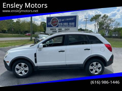 2014 Chevrolet Captiva Sport for sale at Ensley Motors in Allendale MI