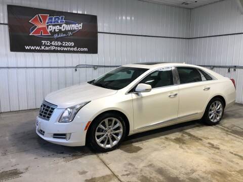 2013 Cadillac XTS for sale at Karl Pre-Owned in Glidden IA