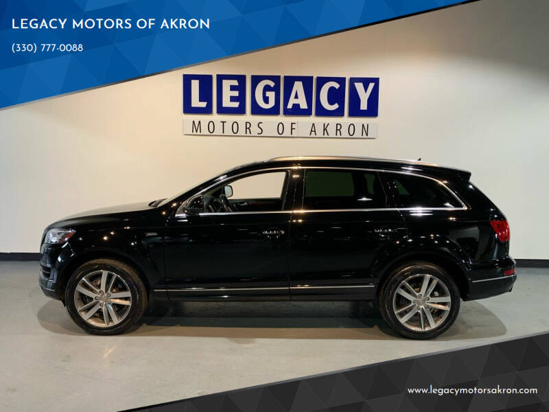2015 Audi Q7 for sale at LEGACY MOTORS OF AKRON in Akron OH