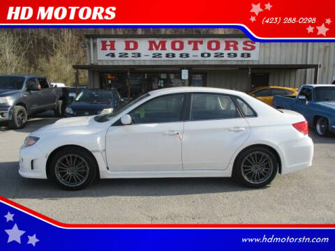 2012 Subaru Impreza for sale at HD MOTORS in Kingsport TN