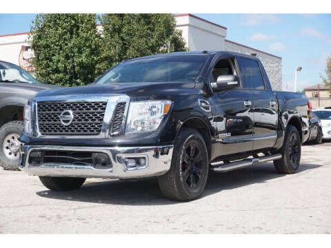 2017 Nissan Titan for sale at Monthly Auto Sales in Fort Worth TX