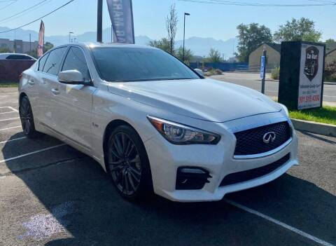 2016 Infiniti Q50 for sale at The Car-Mart in Murray UT