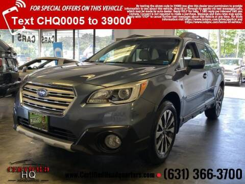 2016 Subaru Outback for sale at CERTIFIED HEADQUARTERS in Saint James NY