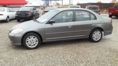 2005 Honda Civic for sale at MIKE'S CYCLE & AUTO - Mikes Cycle and Auto (Liberty) in Liberty IN