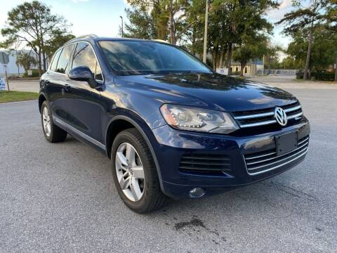 2011 Volkswagen Touareg for sale at Global Auto Exchange in Longwood FL
