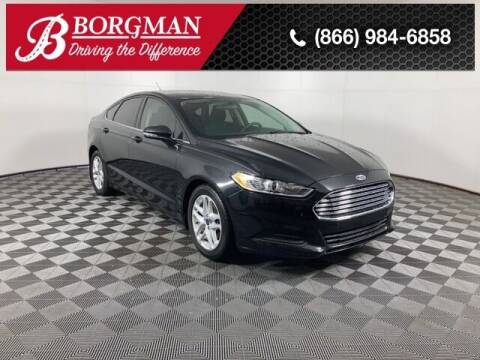 2015 Ford Fusion for sale at BORGMAN OF HOLLAND LLC in Holland MI