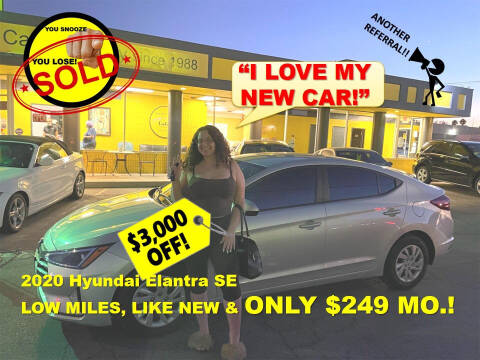 2020 Hyundai Elantra for sale at The Car Company in Las Vegas NV