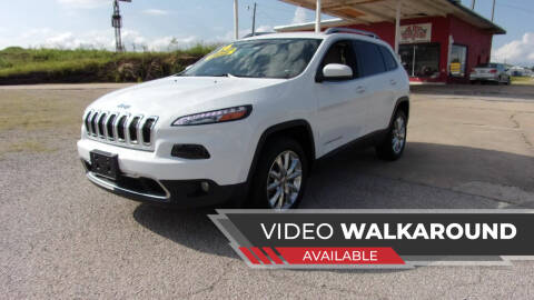 2016 Jeep Cherokee for sale at 6 D's Auto Sales MANNFORD in Mannford OK