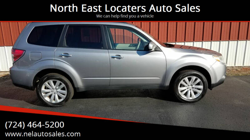 2011 Subaru Forester for sale at North East Locaters Auto Sales in Indiana PA