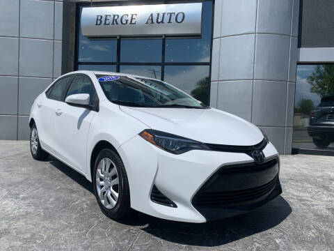 2018 Toyota Corolla for sale at Berge Auto in Orem UT
