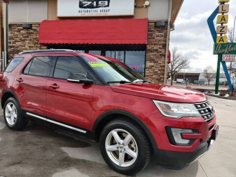 2016 Ford Explorer for sale at 719 Automotive Group in Colorado Springs CO
