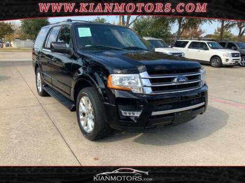 2017 Ford Expedition for sale at KIAN MOTORS INC in Plano TX