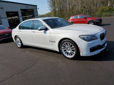 2012 BMW 7 Series for sale at MOUNT EDEN MOTORS INC in Bronx NY