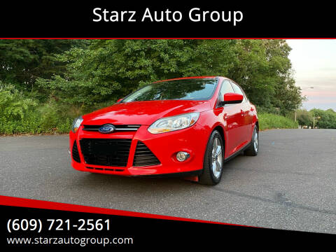 2012 Ford Focus for sale at Starz Auto Group in Delran NJ