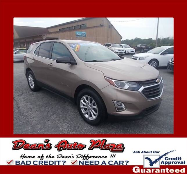 2018 Chevrolet Equinox for sale at Dean's Auto Plaza in Hanover PA