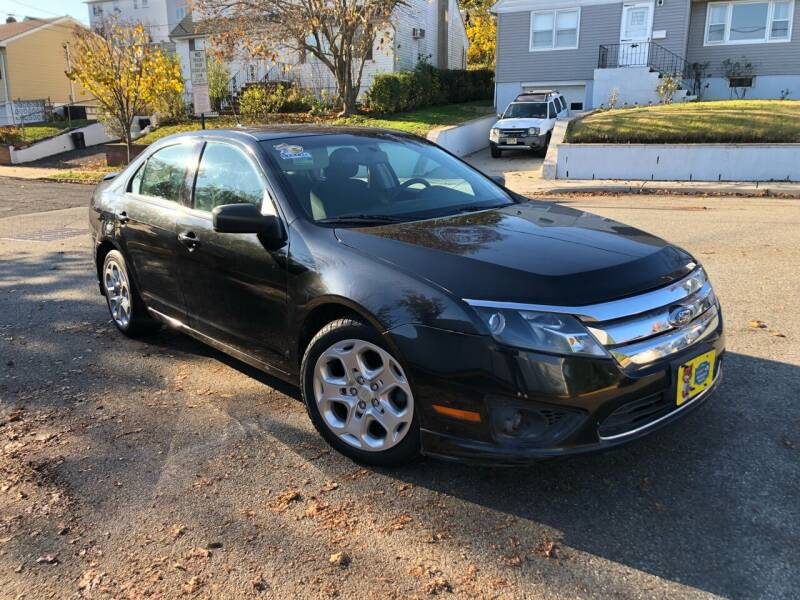 2010 Ford Fusion for sale at Giordano Auto Sales in Hasbrouck Heights NJ