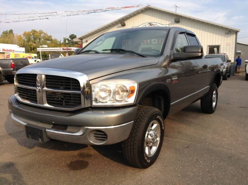 2007 Dodge Ram Pickup 2500 for sale at Steves Auto Sales in Cambridge MN