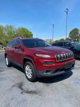 2014 Jeep Cherokee for sale at Harbin Motors in Portland TN