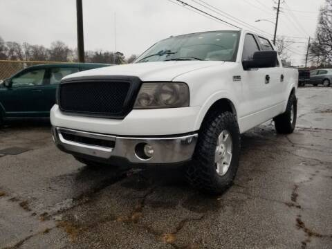 2007 Ford F-150 for sale at DREWS AUTO SALES INTERNATIONAL BROKERAGE in Atlanta GA