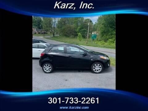 2012 Mazda MAZDA2 for sale at Karz INC in Funkstown MD