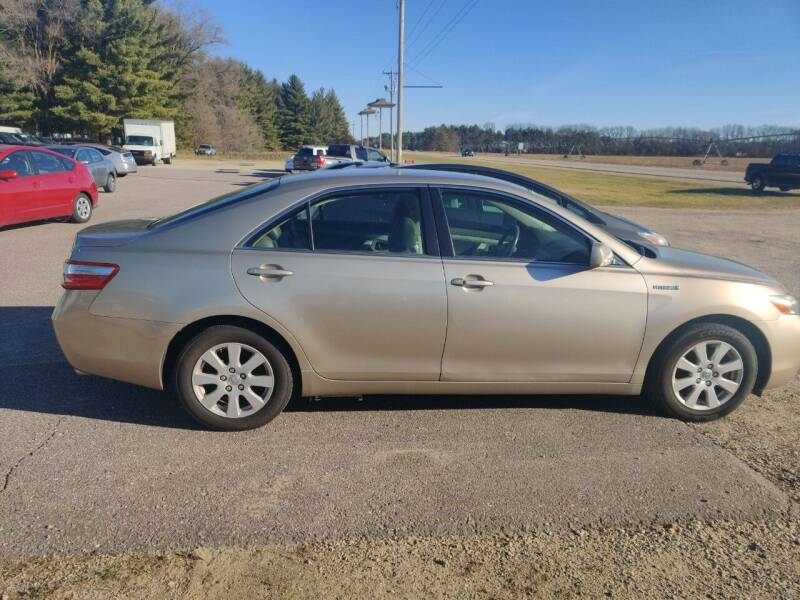 2007 Toyota Camry Hybrid for sale at SCENIC SALES LLC in Arena WI