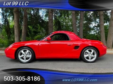 1999 Porsche Boxster for sale at LOT 99 LLC in Milwaukie OR