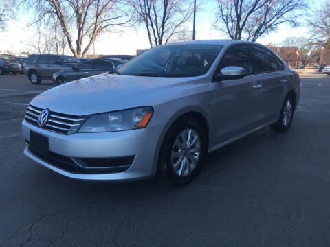 2013 Volkswagen Passat for sale at Modern Auto in Denver CO
