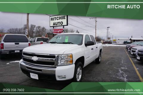 2010 Chevrolet Silverado 1500 for sale at Ritchie Auto in Appleton WI
