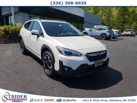 2021 Subaru Crosstrek for sale at STRIDER BUICK GMC SUBARU in Asheboro NC