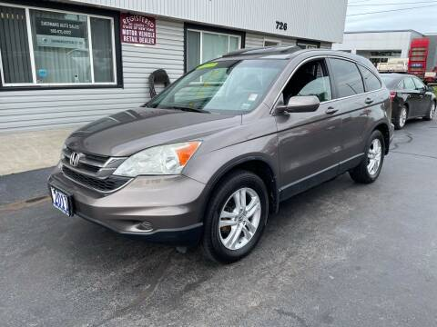 2011 Honda CR-V for sale at Shermans Auto Sales in Webster NY