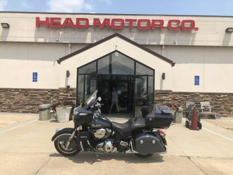 2021 Indian Motorcycle® ROADMASTER LIMITED, THNDR BLK  for sale at Head Motor Company - Head Indian Motorcycle in Columbia MO