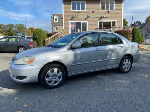 2007 Toyota Corolla for sale at Good Works Auto Sales INC in Ashland MA