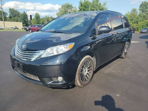 2012 Toyota Sienna for sale at Cruisin' Auto Sales in Madison IN