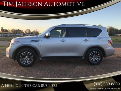 2019 Nissan Armada for sale at Tim Jackson Automotive in Jonesville LA