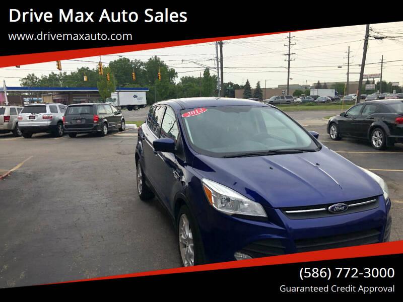 2013 Ford Escape for sale at Drive Max Auto Sales in Warren MI