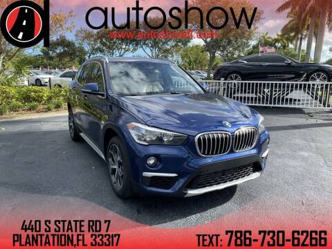 2019 BMW X1 for sale at AUTOSHOW SALES & SERVICE in Plantation FL