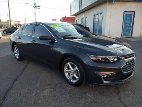 2017 Chevrolet Malibu for sale at VIVASTREET AUTO SALES LLC - VivaStreet Auto Sales in Socorro TX