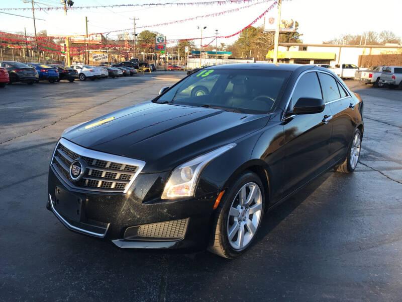 2013 Cadillac ATS for sale at IMPALA MOTORS in Memphis TN